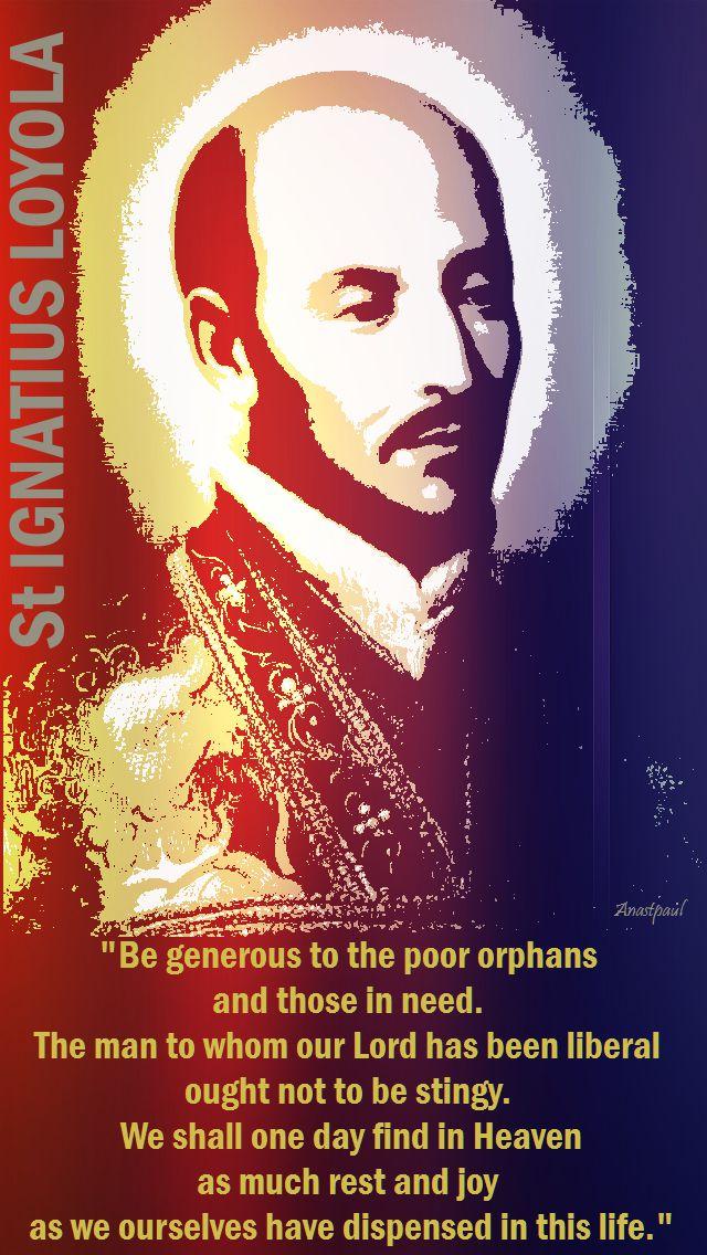 be generous - st iggy
