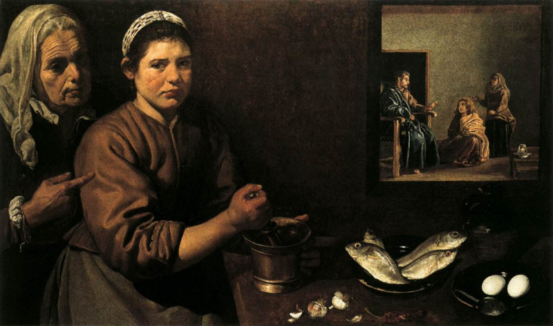 Christ at the House of Martha and Mary of Bethany, Jacob Jordaens