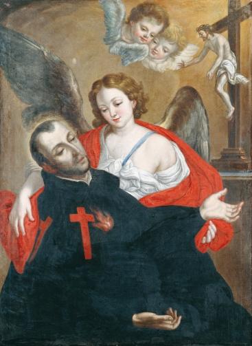 Cristóbal_Lozano_-_Ecstasy_of_Saint_Camillus_de_Lellis_-_Google_Art_Project