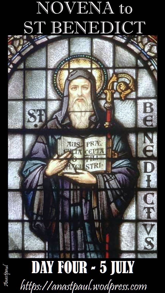 day four novena st benedict
