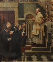 Ignatius and Companions profess their Solemn Vows