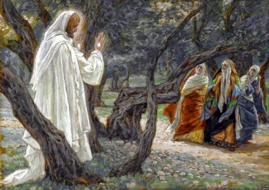 Jesus Appears to the Holy Women (Apparition de Jésus aux saintes femmes)