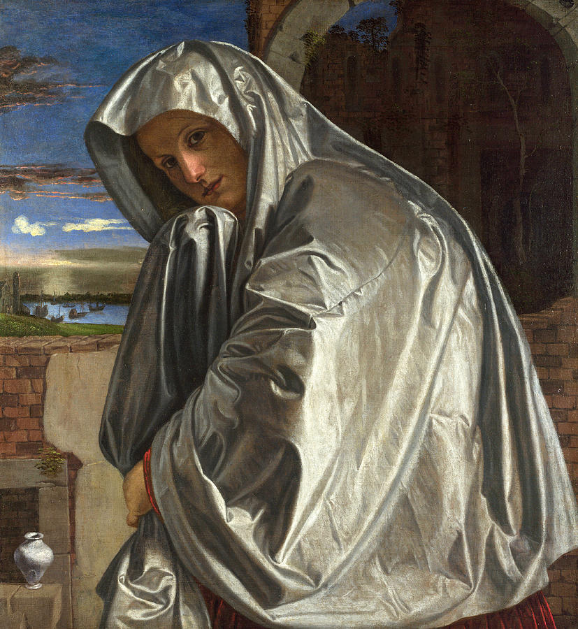 mary-magdalene at the empty tomb - giovanni-gerolamo-savoldo