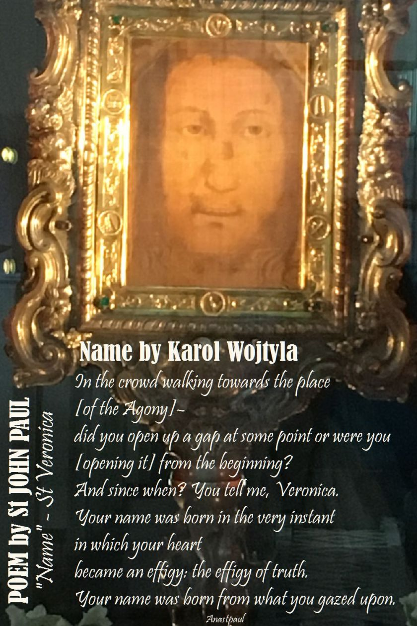 name by karol wojtyla-st john paul
