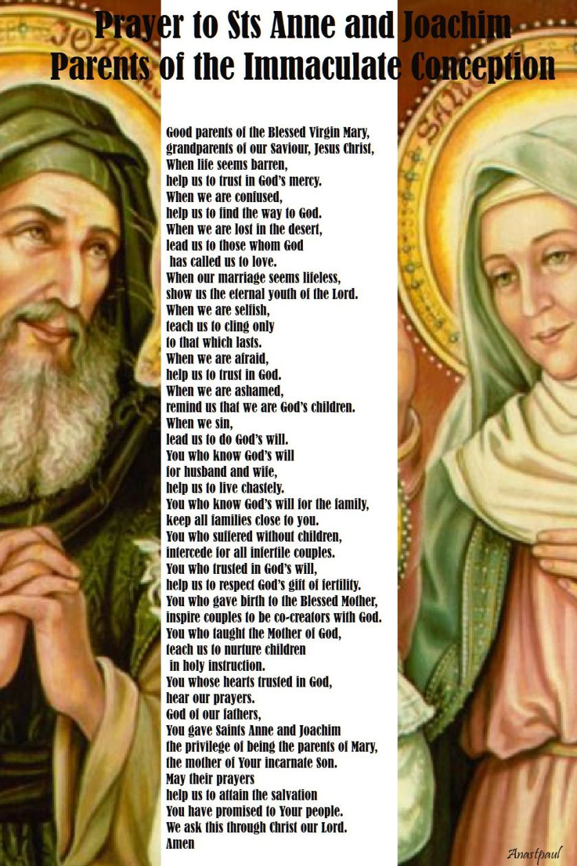 prayer to anne and joachim
