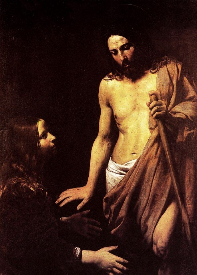 resurrected christ with mary magdalene