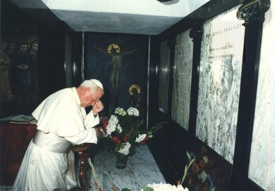 s john paul at his shrine