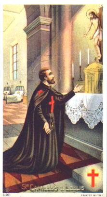 Saint Camillus de Lelis