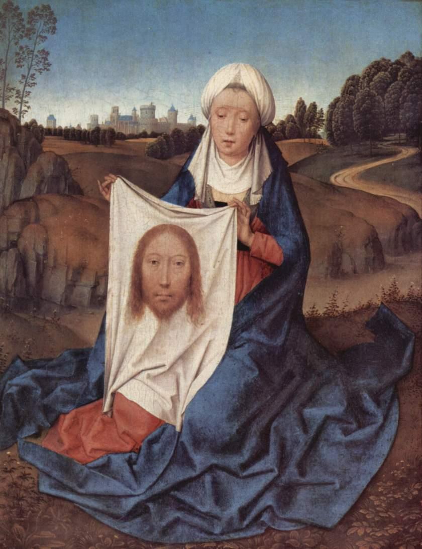 Saint Veronica. Hans Memling