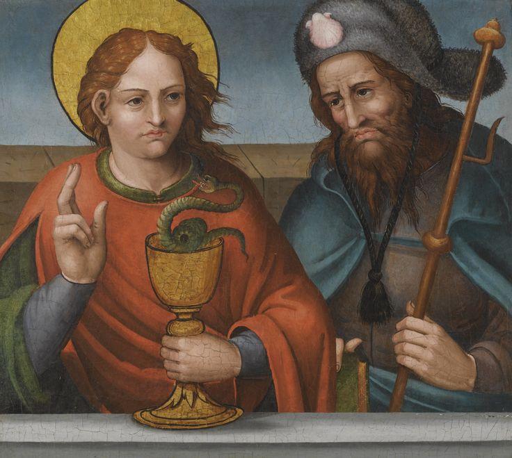 Saints John the Evangelist and James the Greater Martín Gómez the Elder