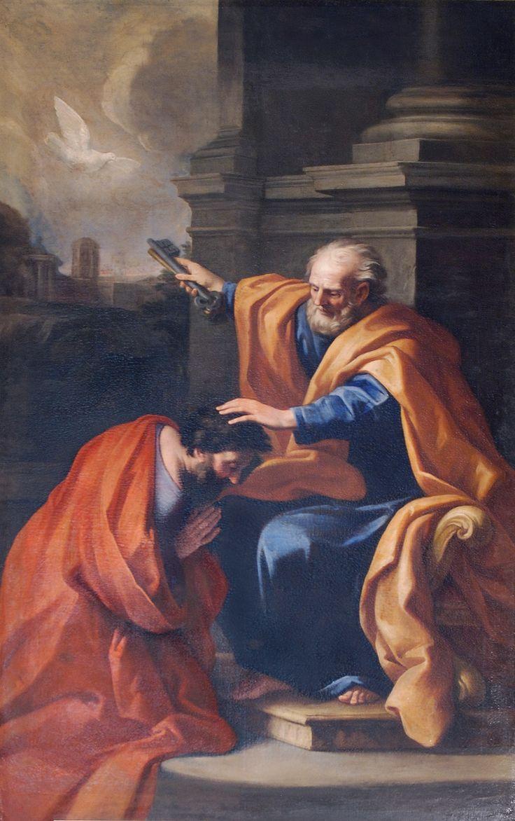 San Pietro sends Saint Apollinaris to Ravenna to convert the city