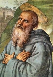 St-Benedict-detail - FOR HIS MEMORIAL