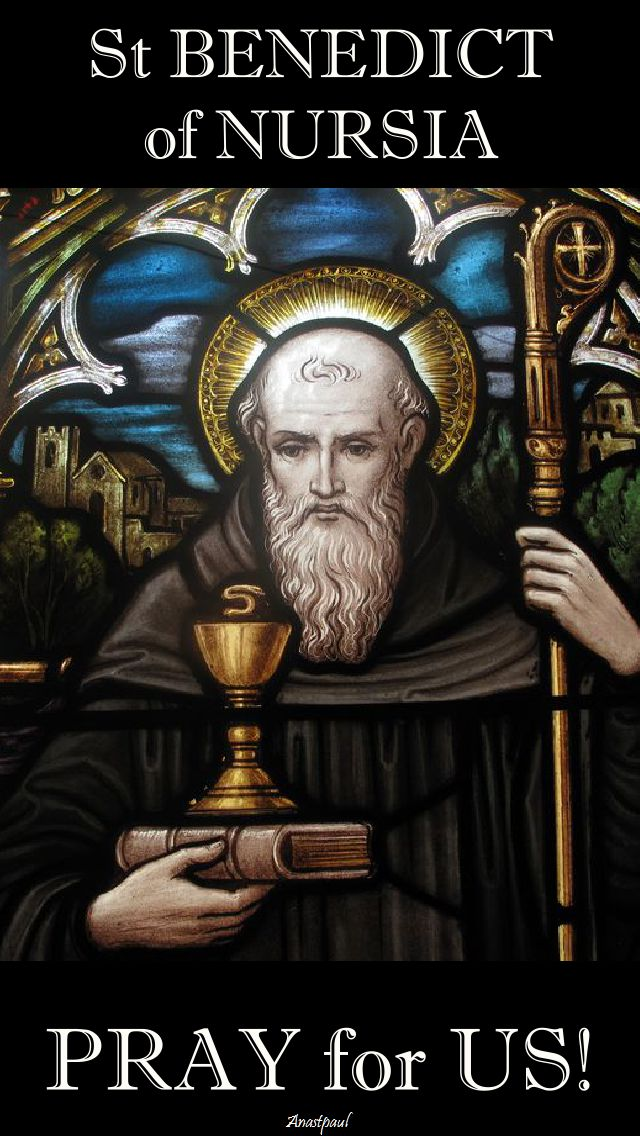 st benedict - pray for us 3