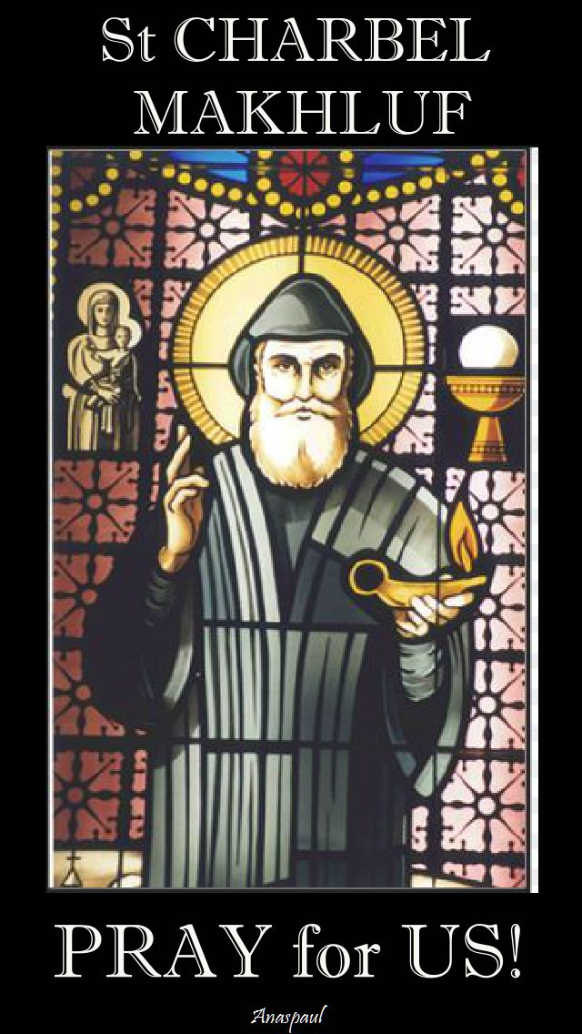 st charbel - pray for us.2.