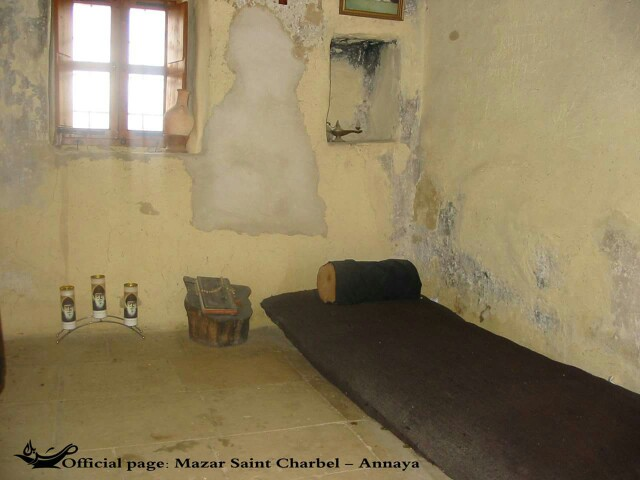 st charbel's cell