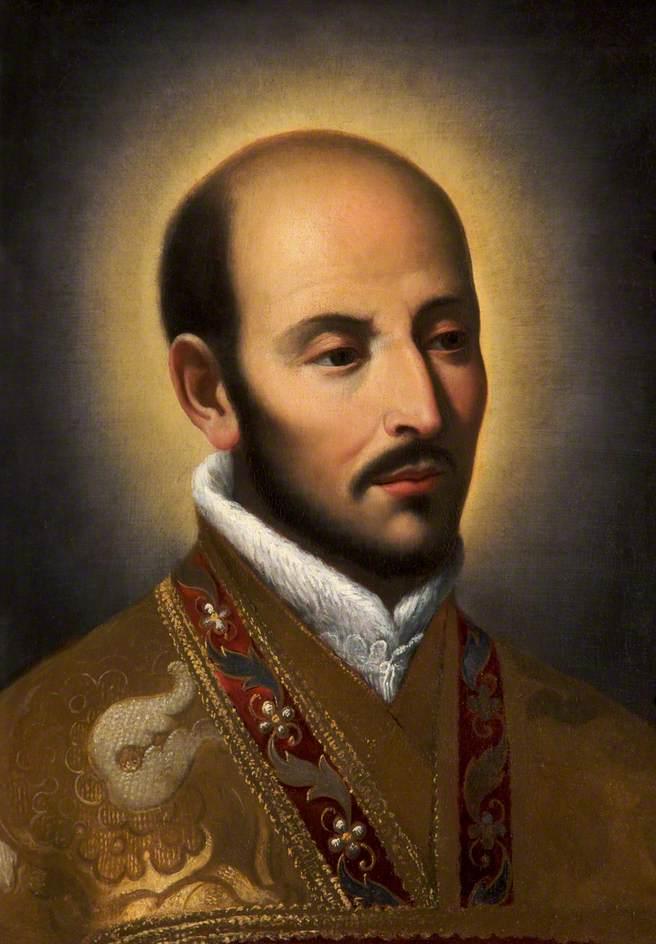 Italian School; St Ignatius of Loyola (1491-1556)