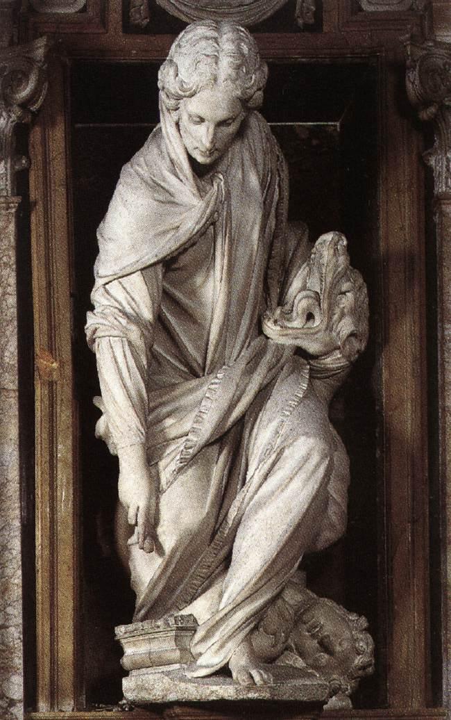 St. Martha by Francesco Mochi