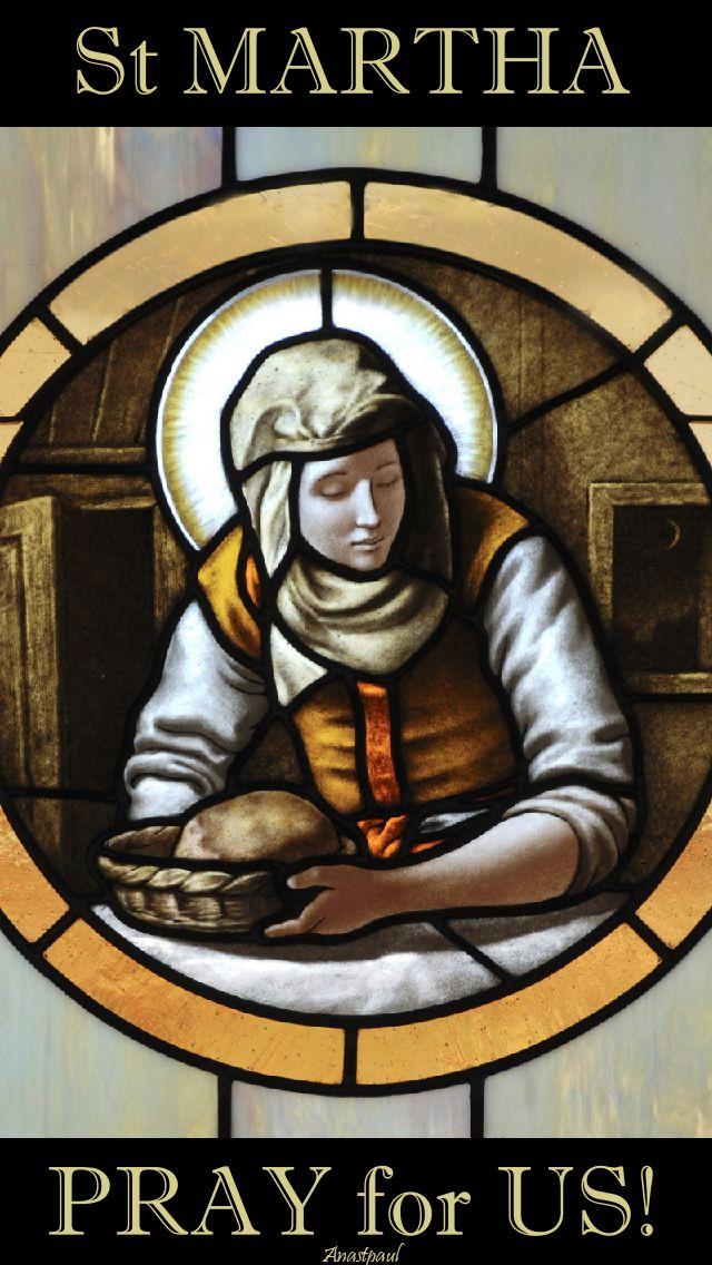 st martha pray for us