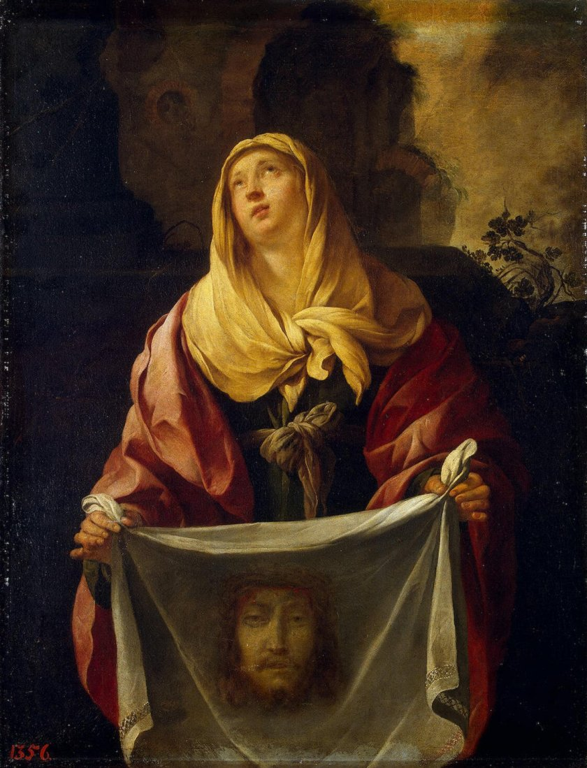St. Veronica by Jacques Blanchard
