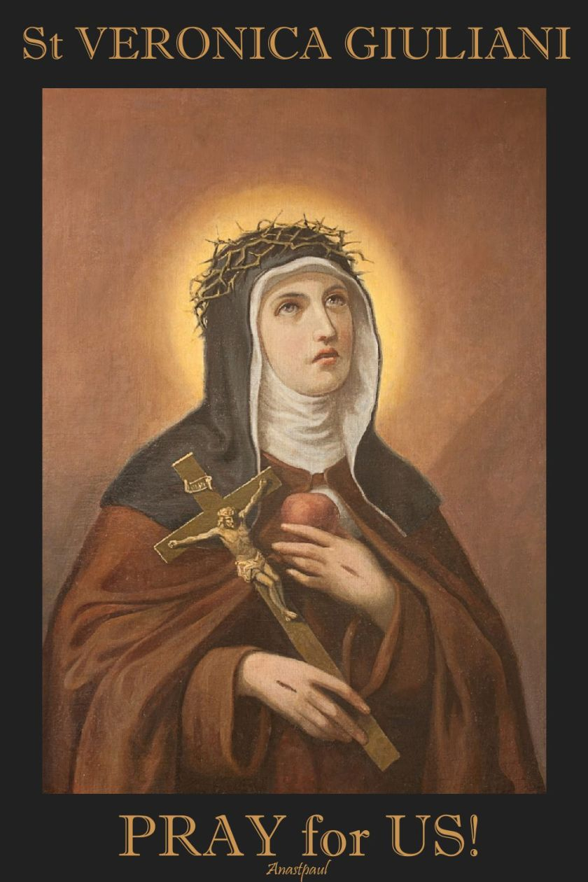 st veronica giuliani - pray for us