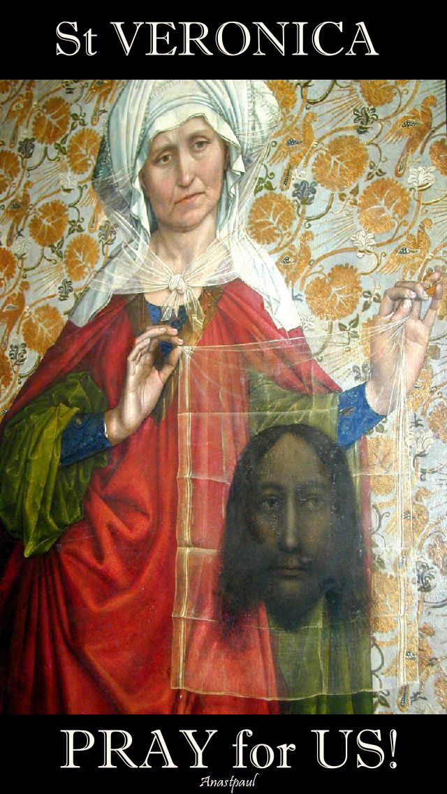 st veronica pray for us.2