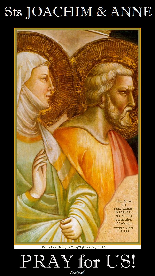 sts anne and joachim pray for us