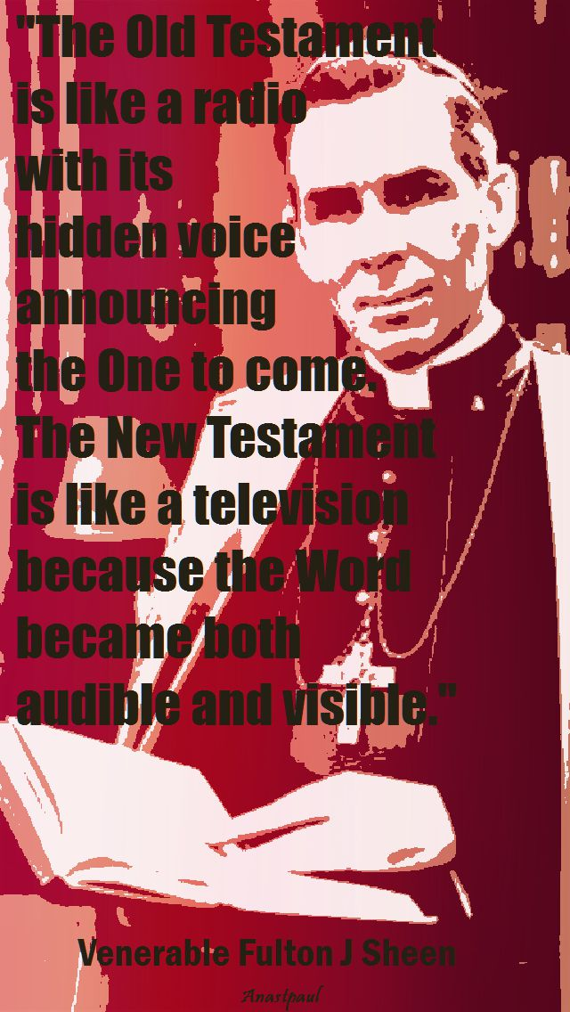 the old testament - fulton sheen