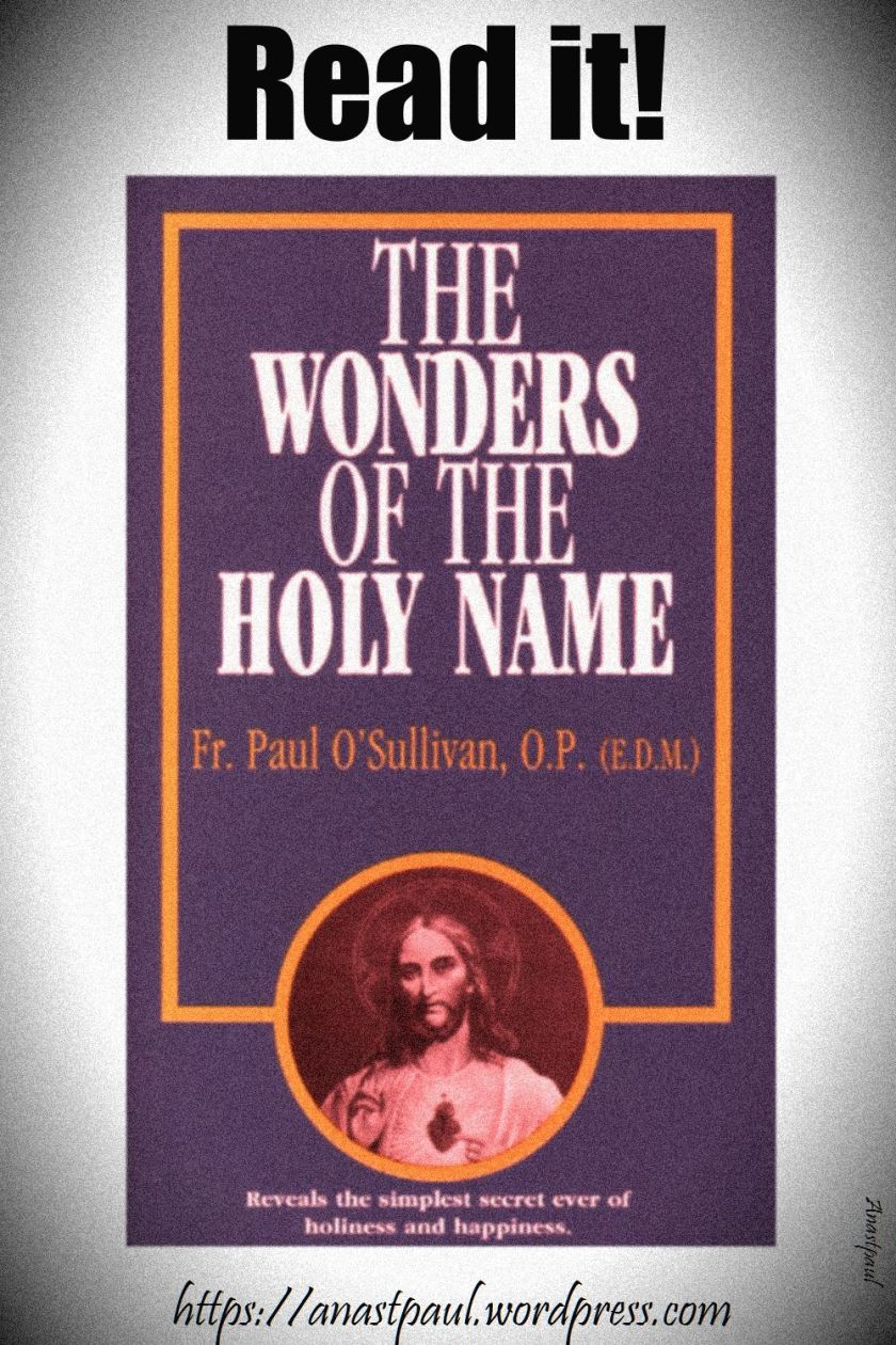 the wonders of the holy name-day two-11 july