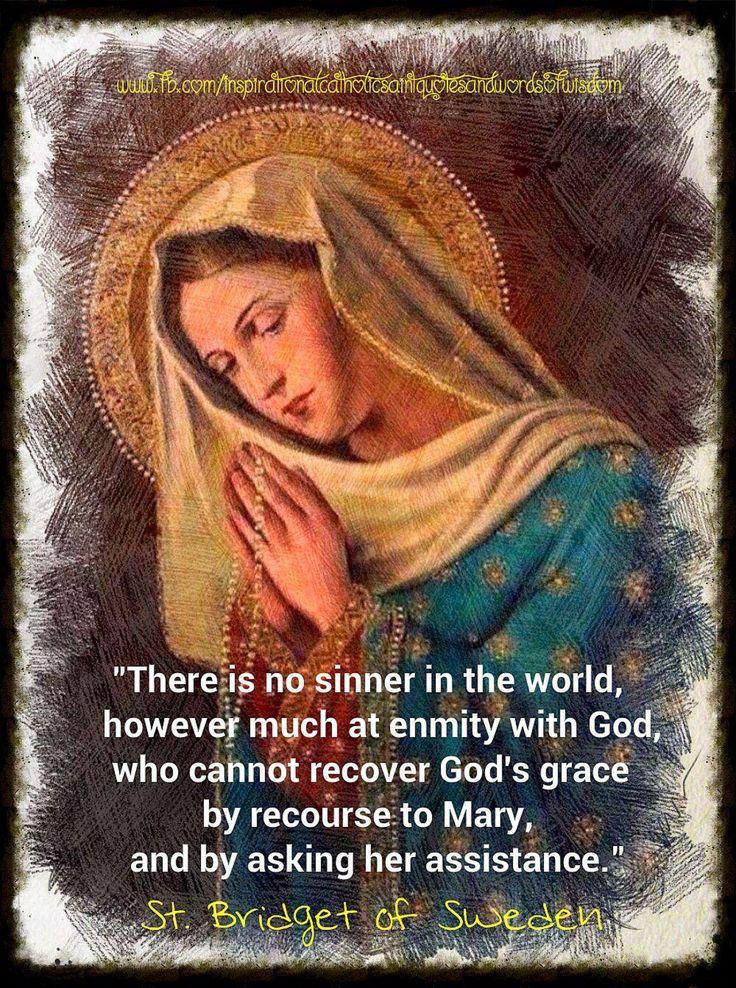 there is no sinner - st bridget of sweden
