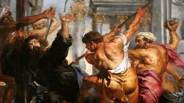 Thomas the Apostle is murdered in India