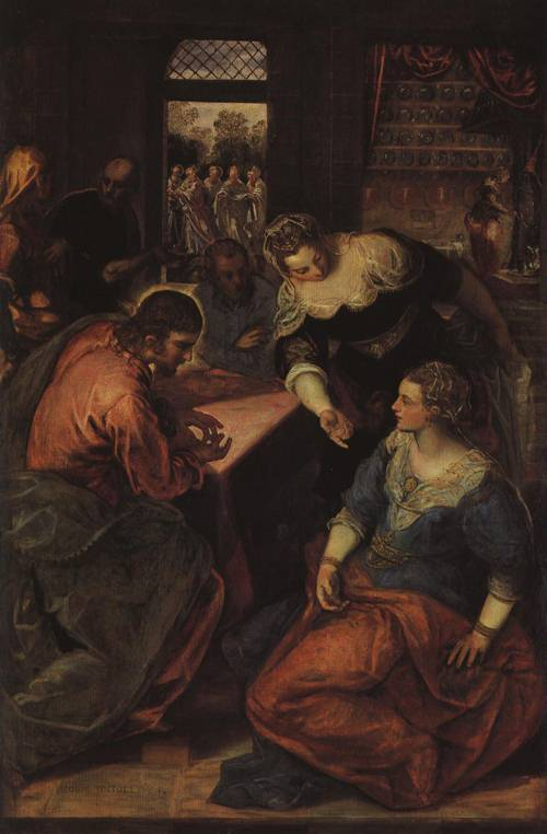 Tintoretto_1580_XX_Christ_in_the_House_of_Mary_and_Martha_(St._Martha)