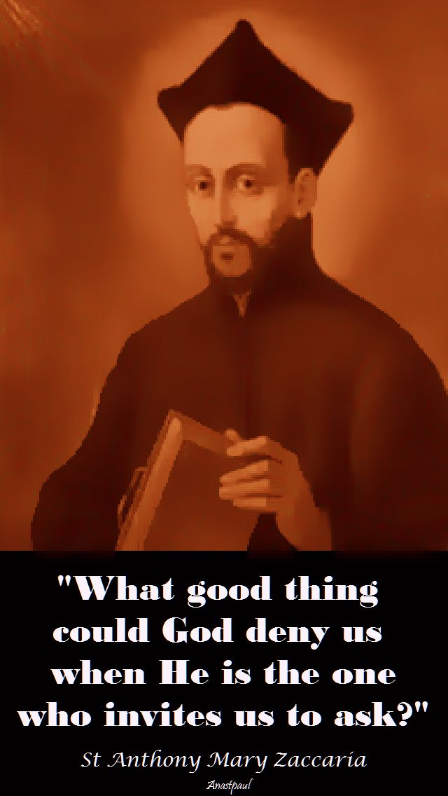 what good thing-st am zaccaria