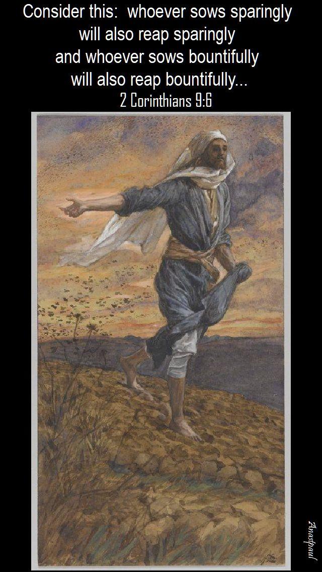 2 Cor 9 6