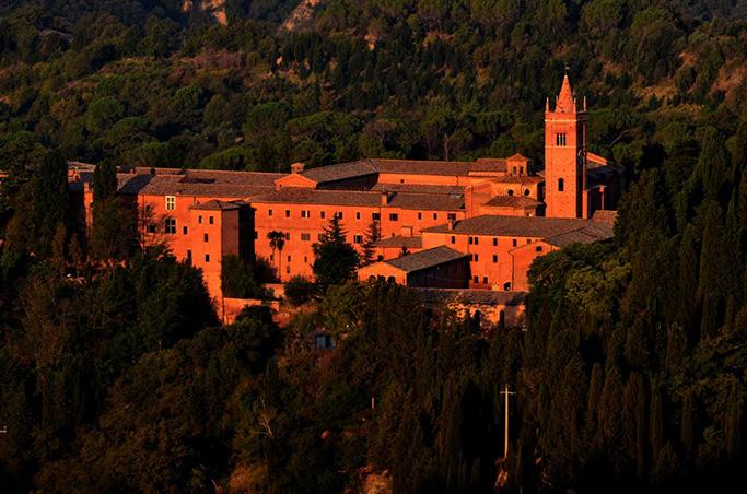 abbey of mont-olivet major