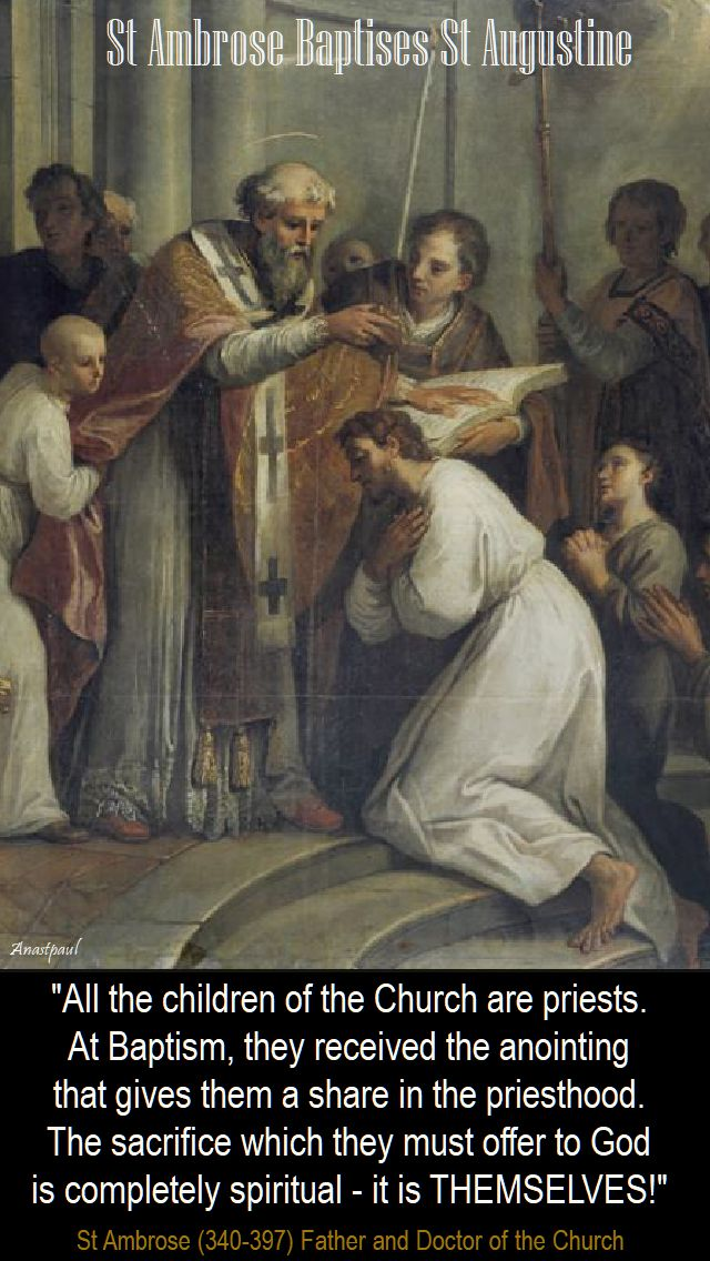 ALL THE CHILDREN OF THE CHURCH - NO 2 - ST AMBROSE