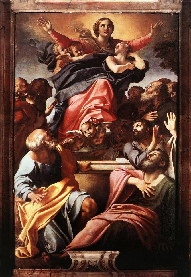 Assumption of the Virgin Mary, 1600 - 1601 - Annibale Carracci