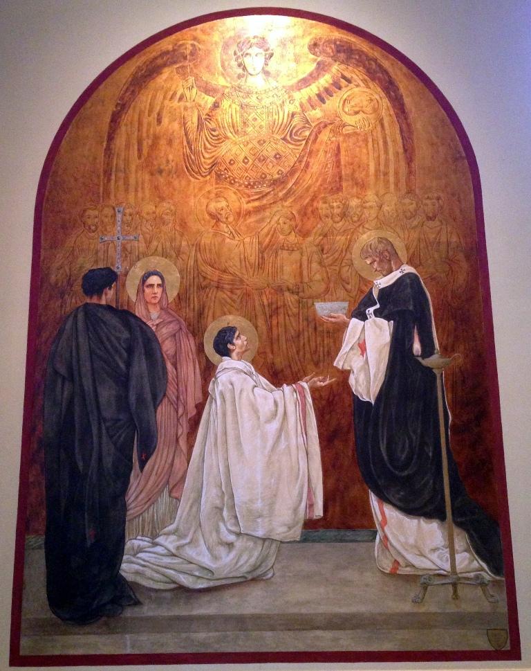 baptism of augustine - van rosen