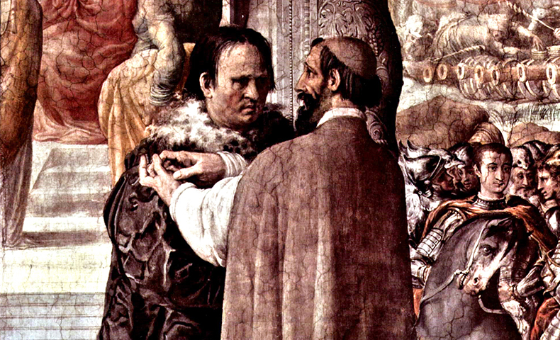 Cajetan und Luther photo by Francesco de_ Rossi