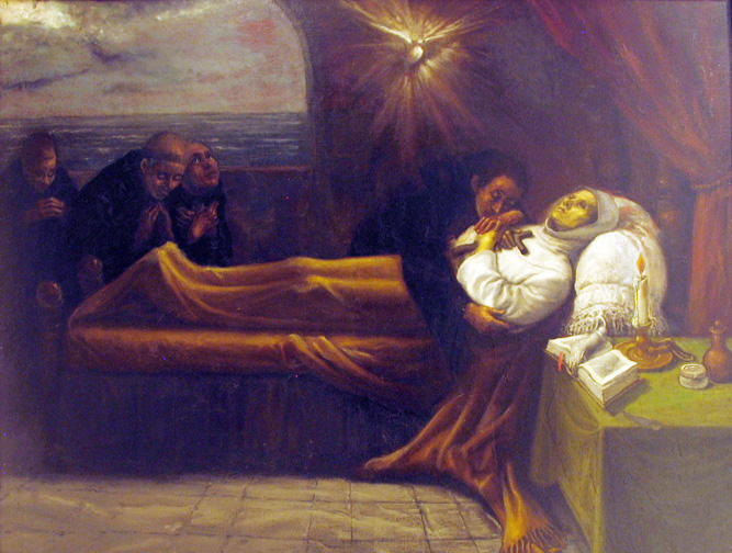 death of st monica 2