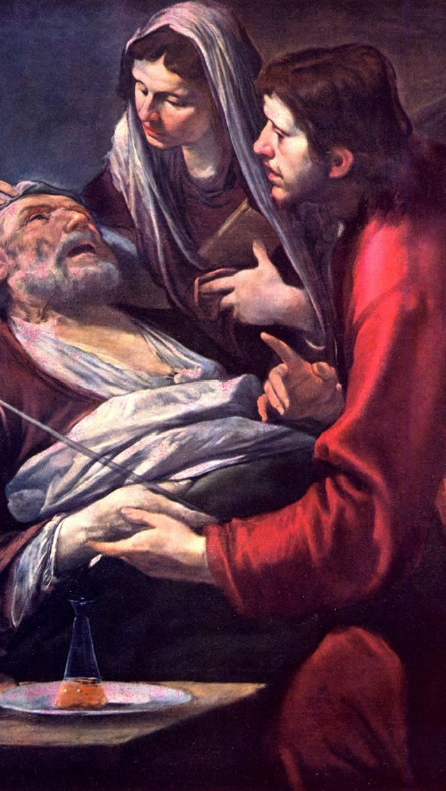 enlarged death of st joseph