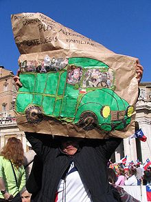 Fr. Hurtado's memorable green pickup truck