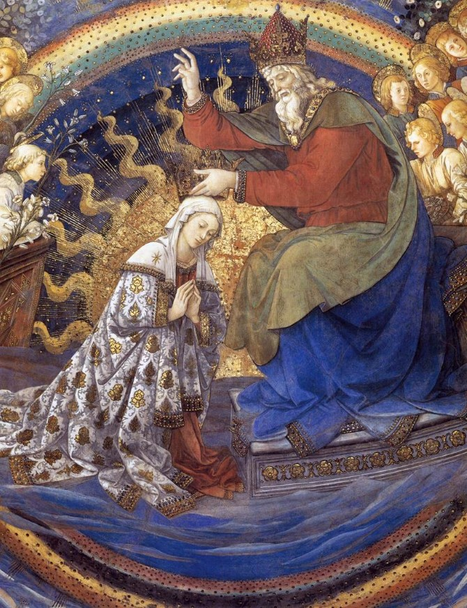 Fra_Filippo_Lippi_-_Coronation_of_the_Virgin_detail_-_WGA13317