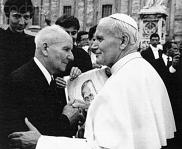 Franciszek+Gajowniczek at the Canonisation