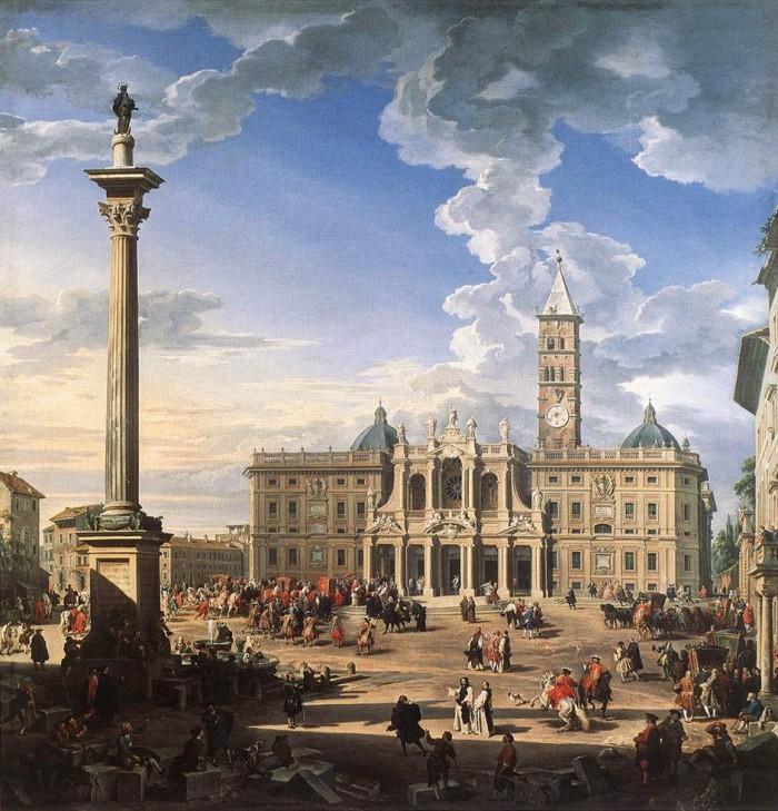 Giovanni-Paolo-Pannini-Piazza-Santa-Maria-Maggiore