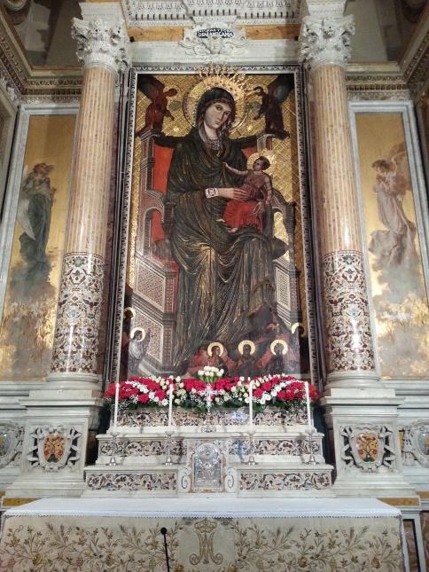 Madonna di Montevergine aka Our Lady of Montevergine, Avellino, Italy