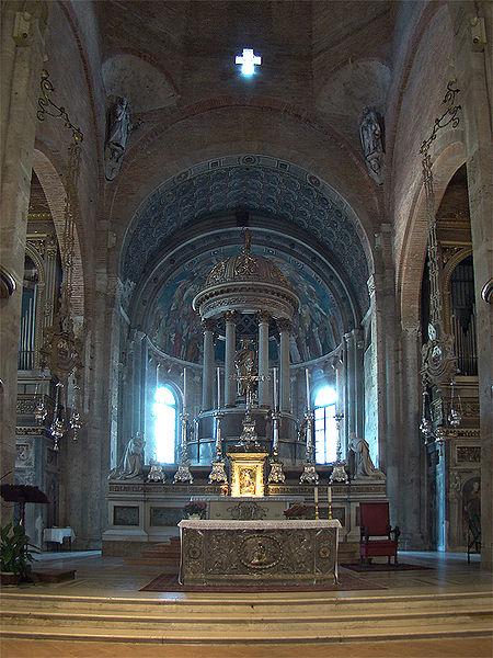 Main Altar of Basilica of Saint Simplician