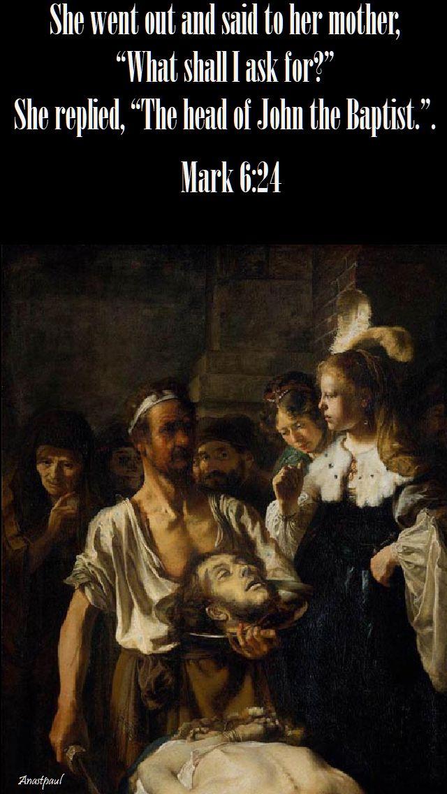 mark 6 24