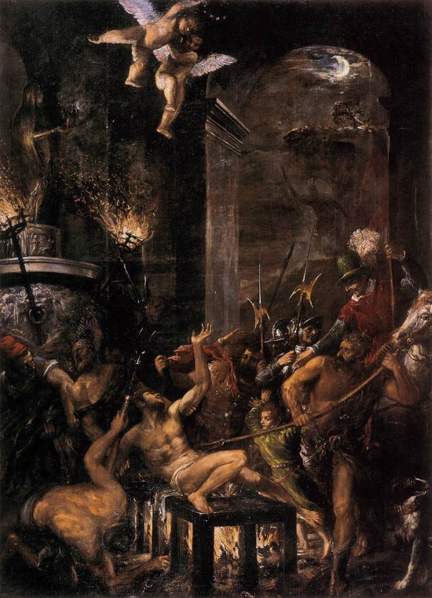 Martyrdom of St Lawrence - Titian