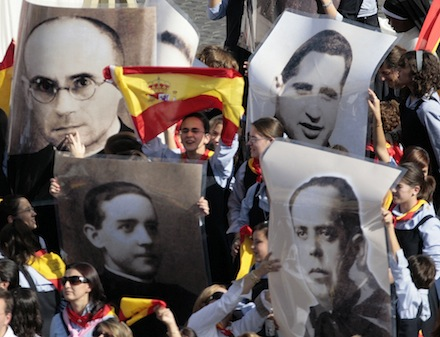 2007 FILE PHOTO OF BEATIFICATION OF SPANISH CIVIL WAR MARTYRS