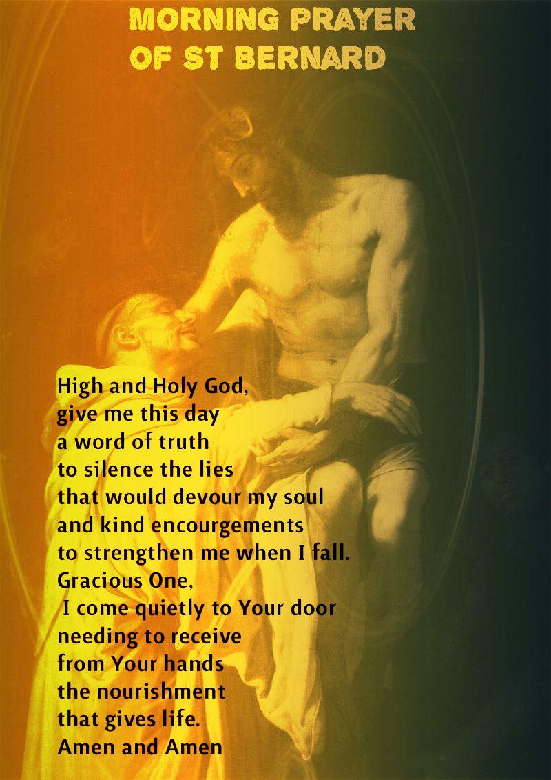MORNING PRAYER OF ST BERNARD.2